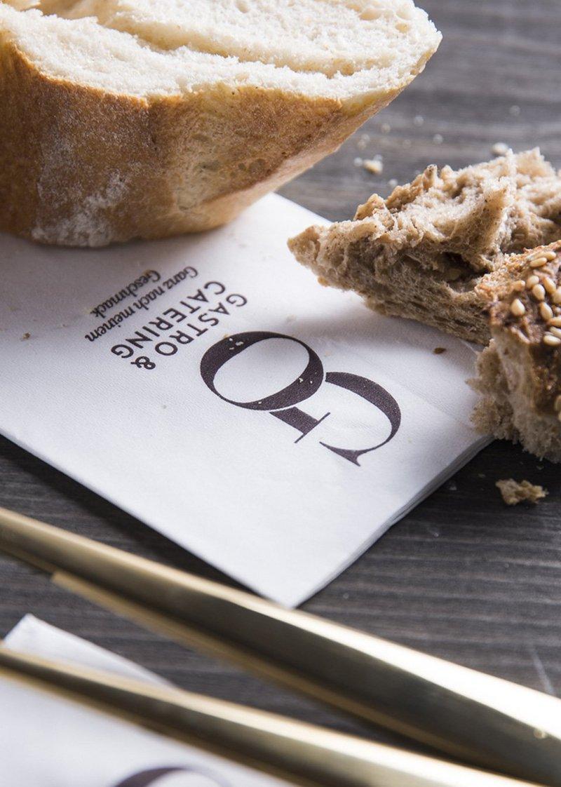 Upart Referenz - Branding für Go Gastro Header