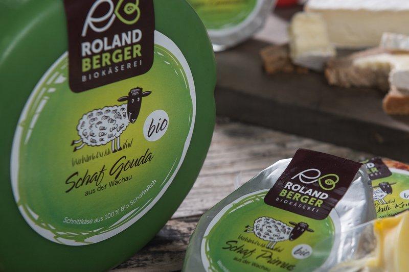 upart Referenz für Biokäserei Roland Berger aus der Wachau - header