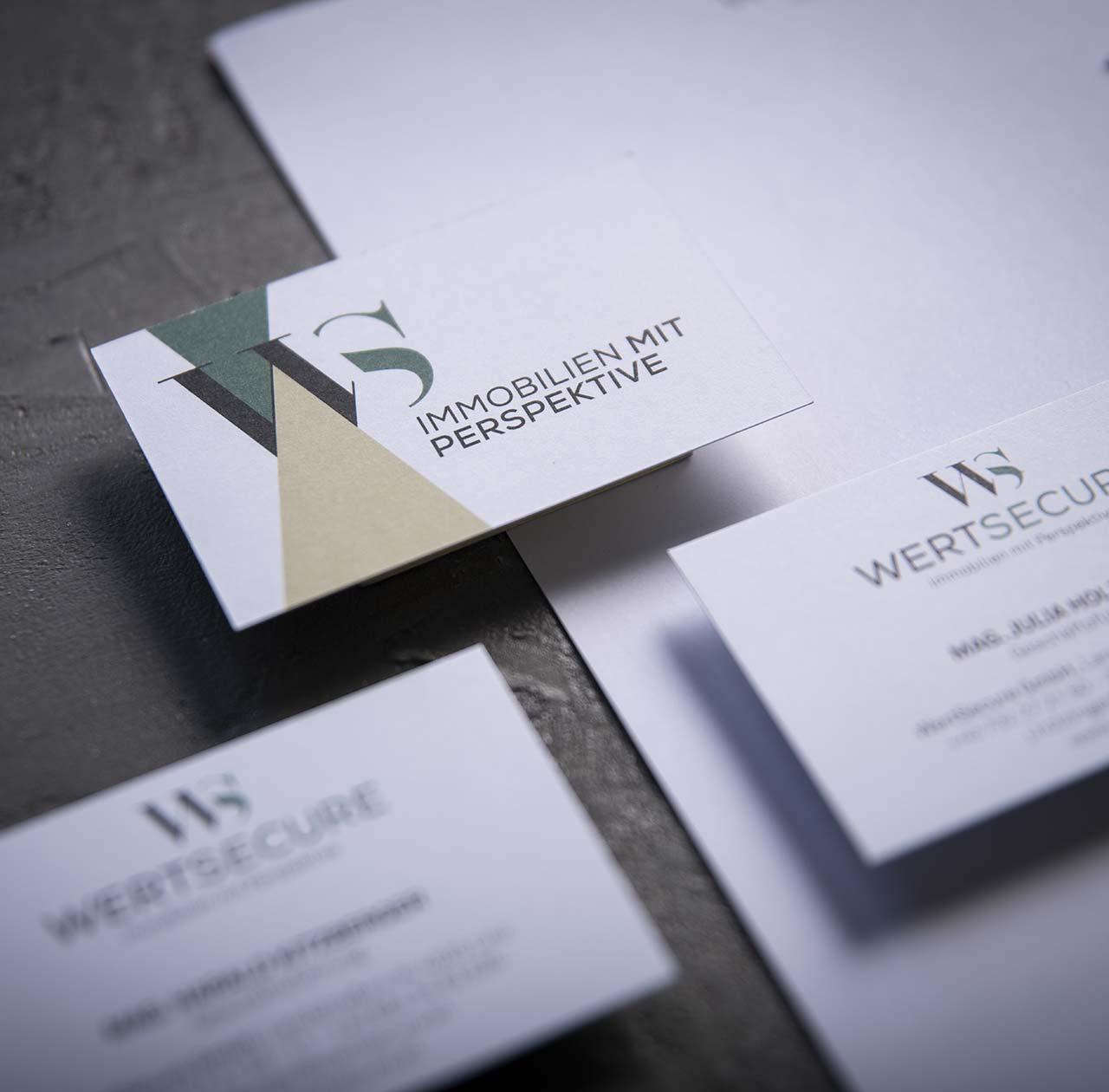 Upart Referenze für Wertsecure - Visitenkarte