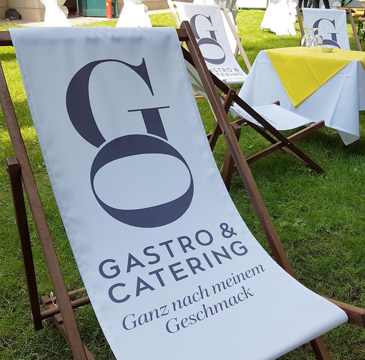 Upart Referenz - Branding für Go Gastro Event Catering