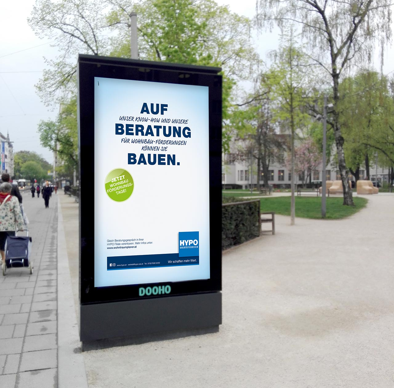 upart-referenz-hypo kampagne