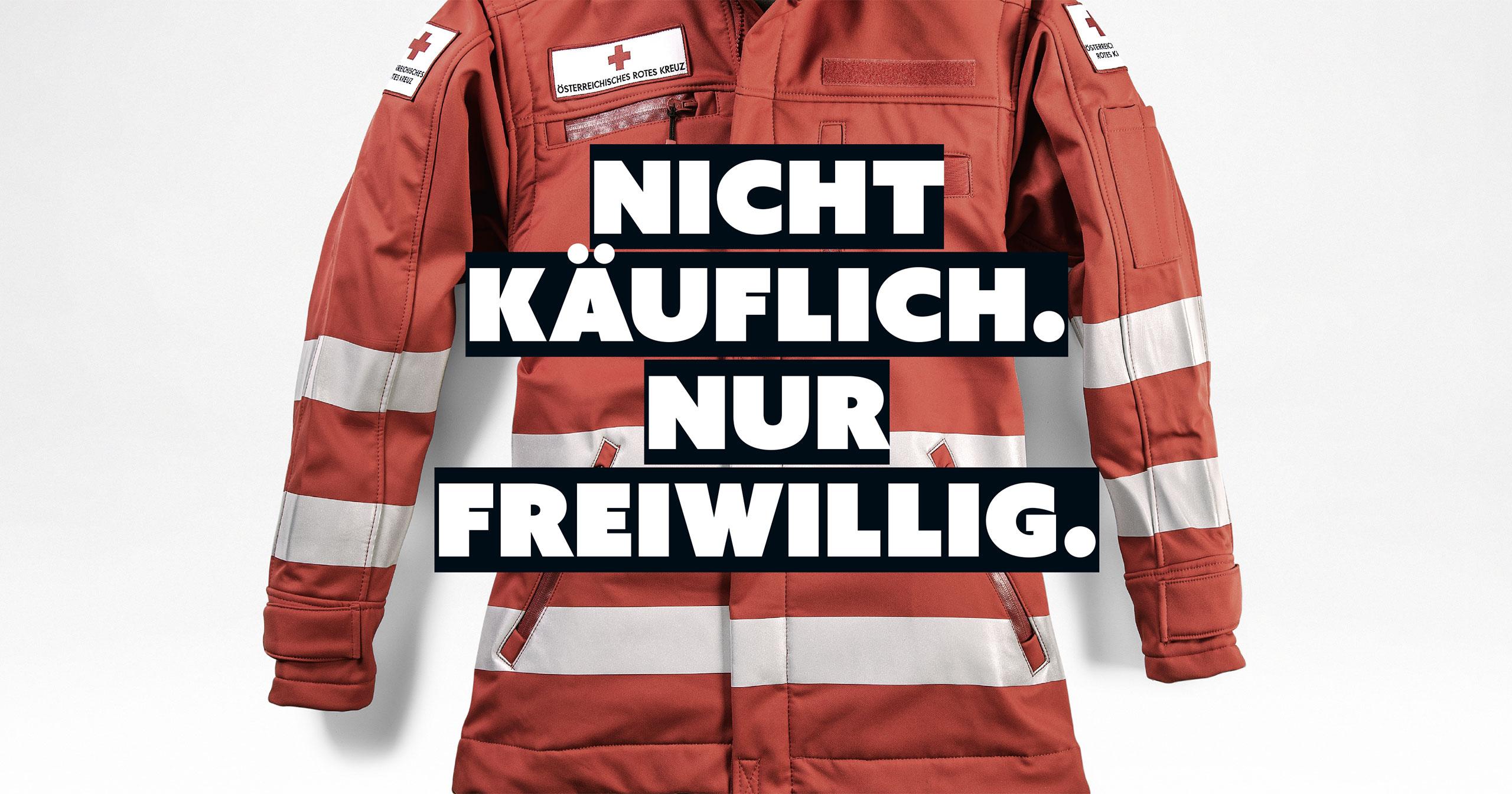 upart Referenz für das oberösterreichische Rote Kreuz - Kampagne 2017