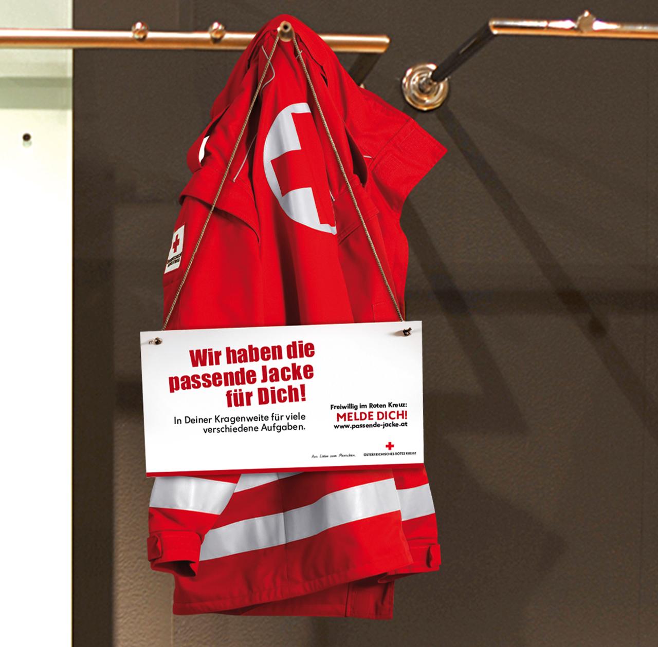 upart Referenz für das Österreichische Rote Kreuz - Kampagne