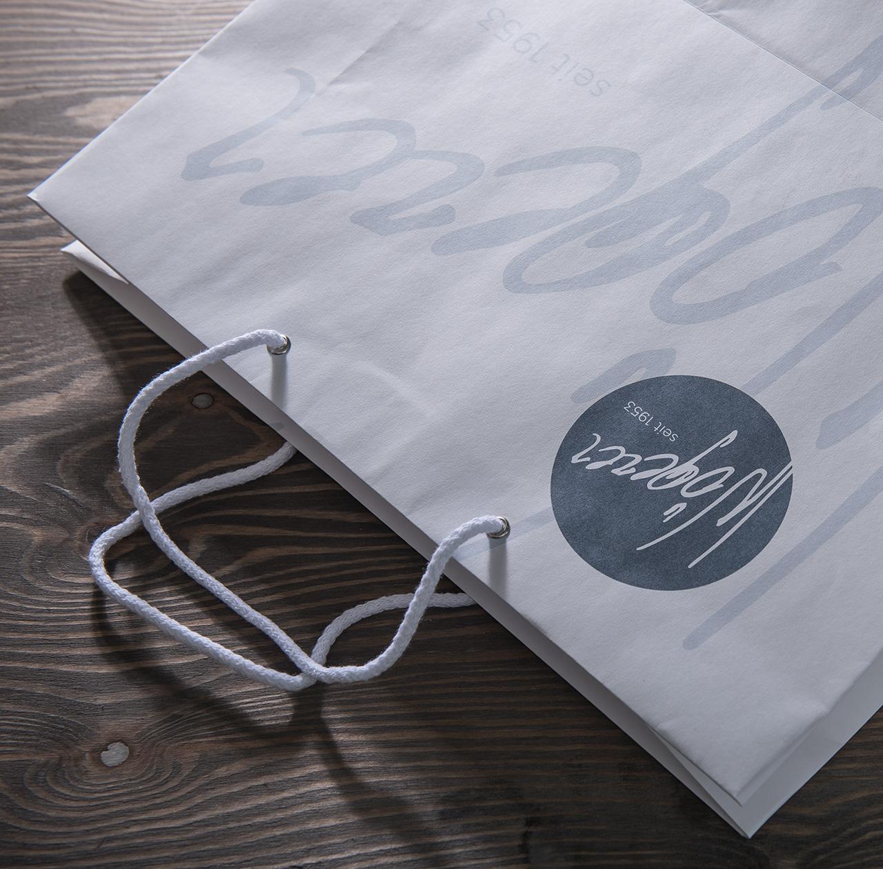 upart referenz für Wögerer - Tragtasche mit Logo