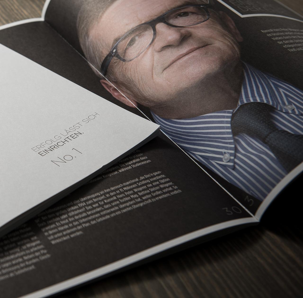 upart Referenz für Wögerer - Magazin Relaunch